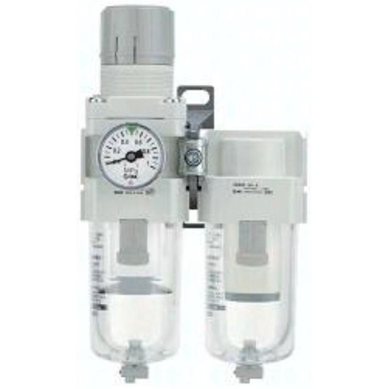 AC40D-F06-W-A SMC Modulare Wartungseinheit